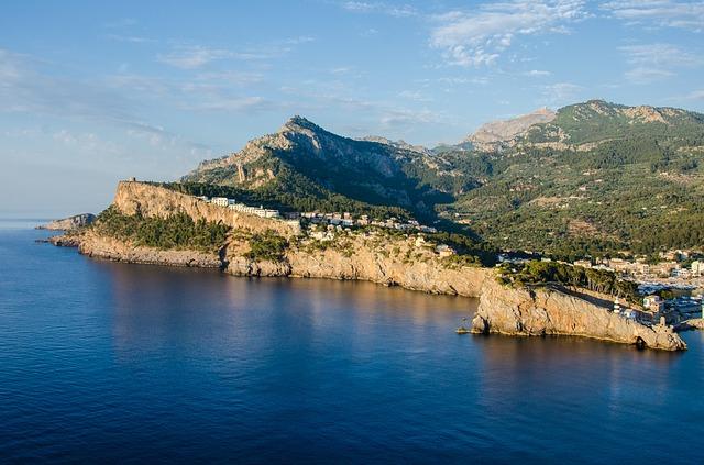 Photographie de la Côte d'Azur.