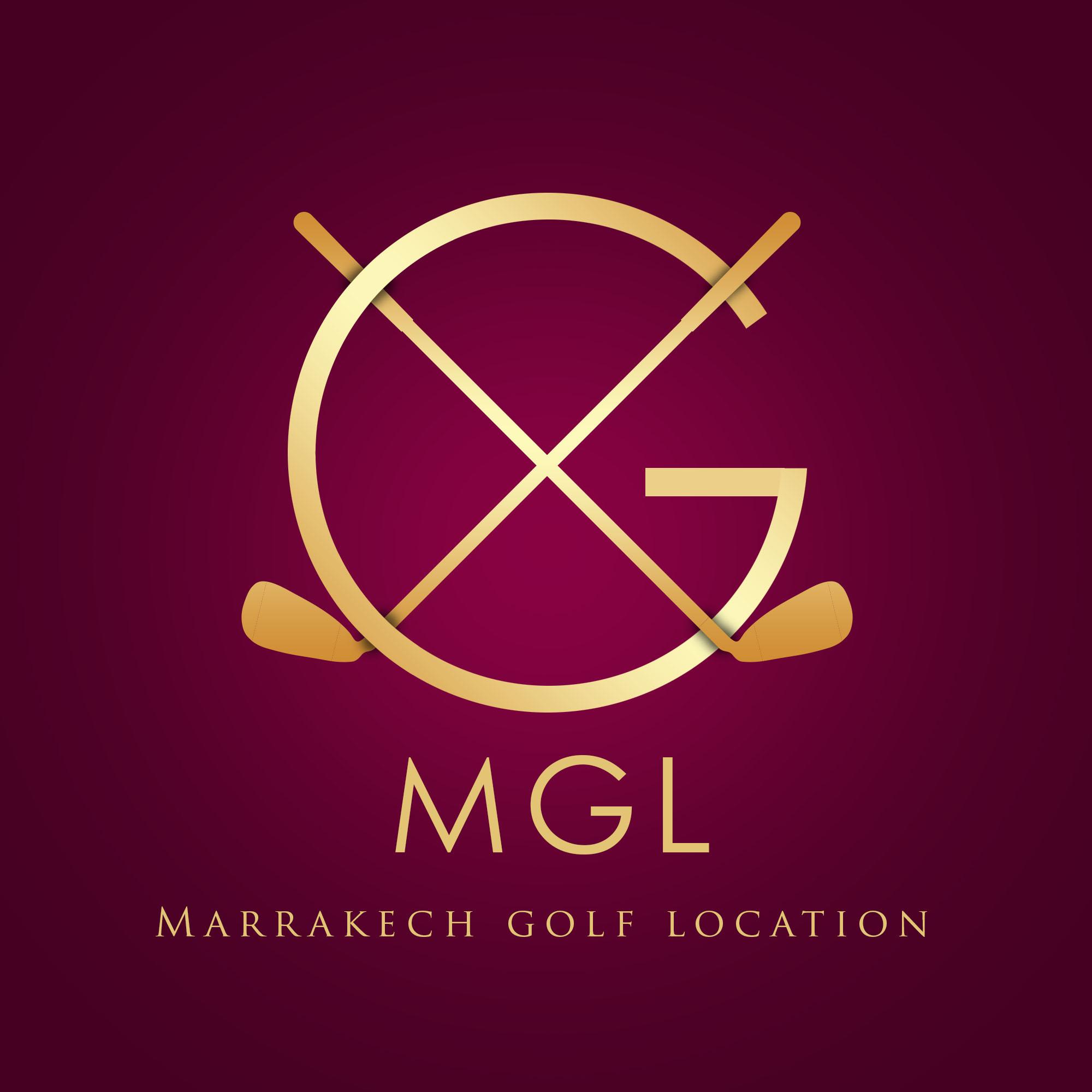 Logo de Marrakech golf location.
