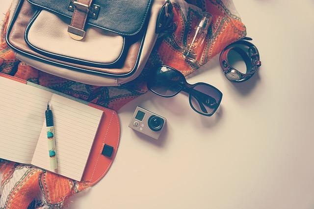 Accessoires de voyage.