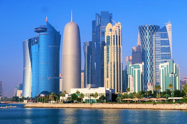 Gratte-ciel au Qatar